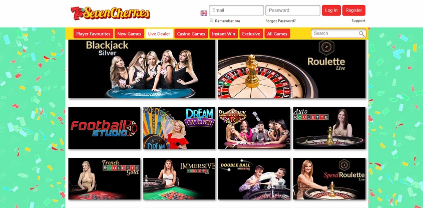 Seven Cherries Online Casino