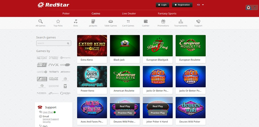 Red Star online casino