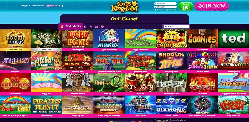 Slots Kingdom Online Casino