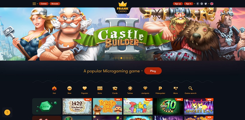 casino free spins sign up bonus