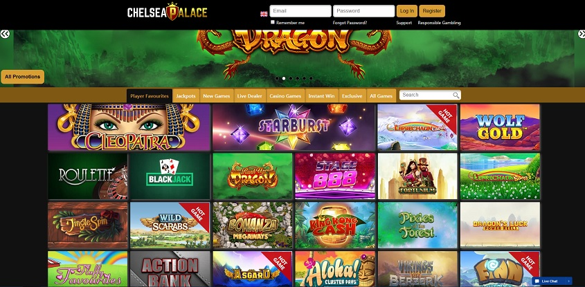 Chelsea Palace Online Casino
