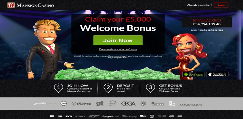 Mansion Online Casino