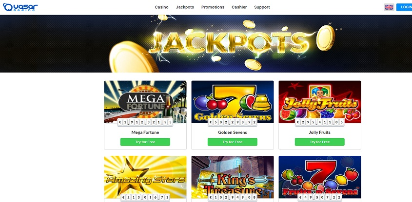 Online casino paypal quasar gaming