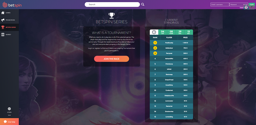 Betspin Online Casino