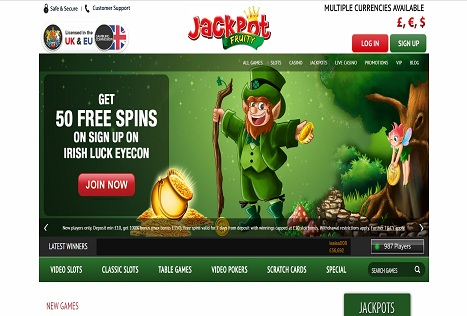 Jackpot Fruity: New Casino From Gambling Giants