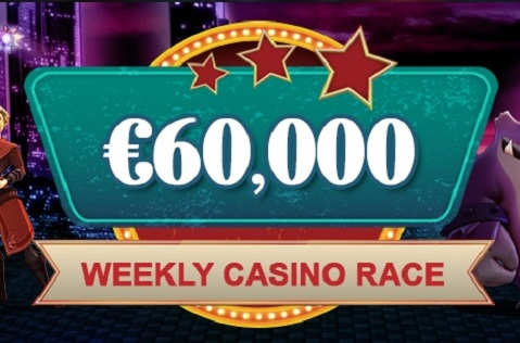 €60,000 to be Won Each Week at Videoslots Casino Races