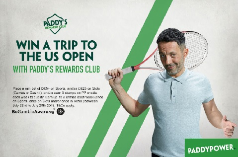 Days Left to Win a Trip to the US Open with Paddy Power