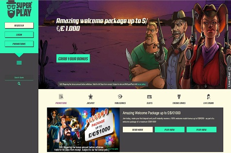 New Online Casino: Mr. SuperPlay Casino Launched to Great Praise from Users