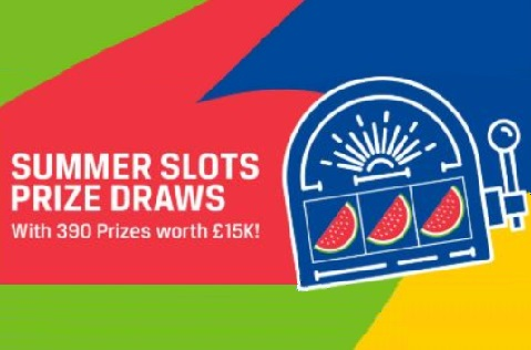 Summer Slot Prize Draws from Coral
