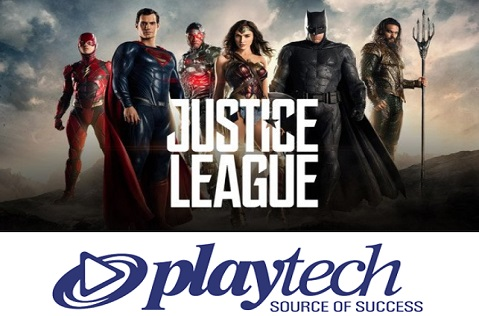Justice League Slot from Playtech